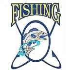 Fishing Die Cut - Very High Detail!!!