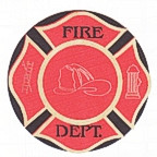 Firefighter badge with laser etching!