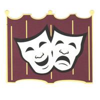 Drama theater theme laser design