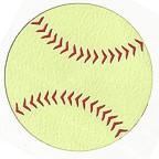 "Softball - Large single 3 1/2"" diameter"