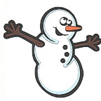 Snowman - Dancing w/ 5 color detail!