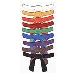 Martial Arts Belts - set of 9 colors