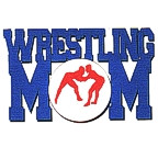 Wrestling MOM 4 Color Laser Design