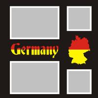 Germany - 12x12 Overlay