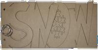 Snow Chipboard Album