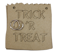 Trick or Treat Chipboard Album