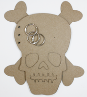 Skull Chipboard Album