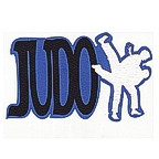 Judo with characters - 3 color