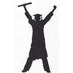 Graduate with diploma - Man
