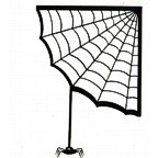 Spider Web with Spider Laser Design