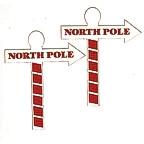 North Pole Signs - Set of 2!
