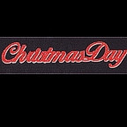 Christmas Day GLITTER Title Strip