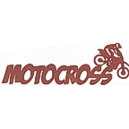 Motocross Title Strip - One Color