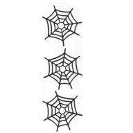 Spider Webs - 3 to a pack!