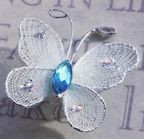 "Butterfly BULK - 12 PIECE 1"" Light Blue"