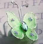 "Butterfly - 1"" Apple Green"