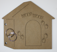 Dog House Chipboard Album