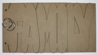 Family Chipboard Album