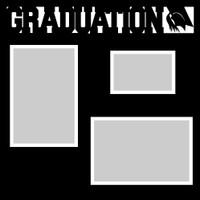 Graduation - 12x12 Overlay