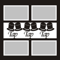 Tap Tap Tap - 12x12 Overlay