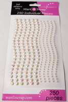 250 Count Rhinestones Mother of Pearl