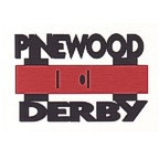 Pinewood Derby with Car Die Cut - 2 Color