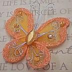 """Butterfly - 2"""" Orange"""