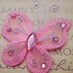 "Butterfly - 2"" Pink"
