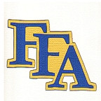 FFA Text Logo Laser Die Cut