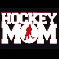 Hockey Mom 2 Color Laser Die Cut
