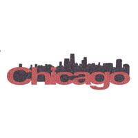Chicago Skyline Title Strip - Glitter!
