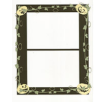 Halloween Frame Laser Die Cut - For *2* 4x6 prints!