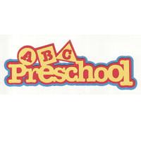 Preschool ABCs Laser Die Cut