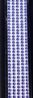 """Sleek Strips 12"""" Rhinestones- Purple"""