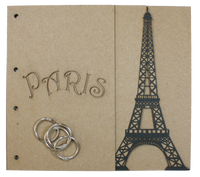Paris Chipboard Album