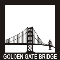 Golden Gate Bridge - 12x12 Overlay