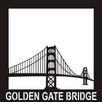 Golden Gate Bridge - 12x12 Overlay