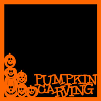Pumpkin Carving - 12x12 Overlay