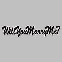 Will You Marry Me - Title Strip