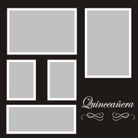 Quinceneras - 12x12 Overlay
