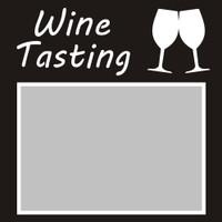 Wine Tasting - 6x6 Overlay