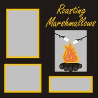 Roasting Marshmallows - 12x12 Overlay