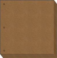 8 x 8 Square Chipboard Album