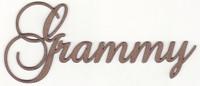 Grammy - Fancy Chipboard word