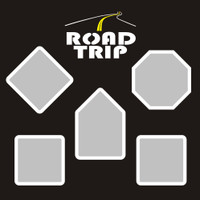Road Trip- 12x12 Overlay