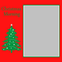 Christmas Morning - 6x6 Overlay