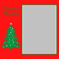Christmas Morning - 6x6 Overlay