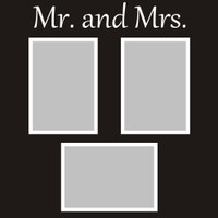 Mr. and Mrs. - 12x12 Overlay