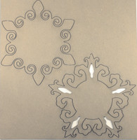 Doily Set 3 - Chipboard Embellishments