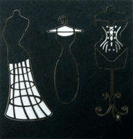 Dress Form Set - Silhouettes